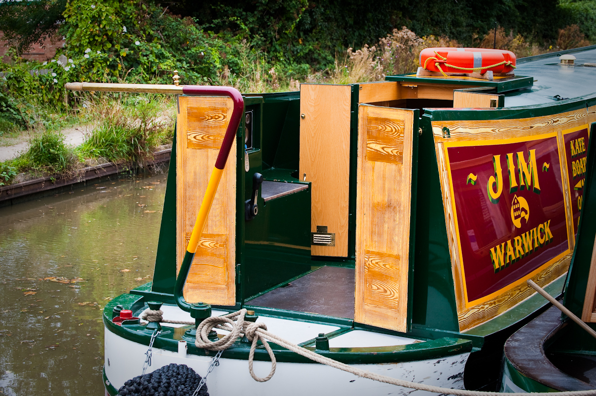 semi-trad traditional stern narrowboat canal boat