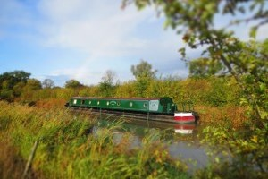 Luxury narrowboat on the grand union canal, canal boat hire, narrowboat self drive holidays