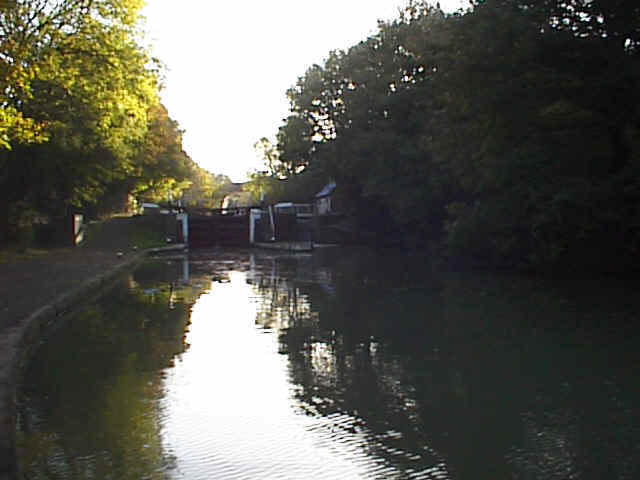 Radford Locks, Grand Union Canal