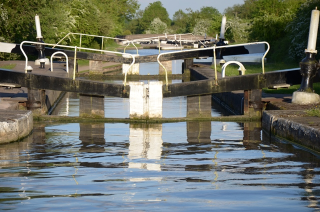 Locks on the Grand Union Canal
